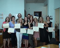 Happy TEFL Graduates in Corinth
